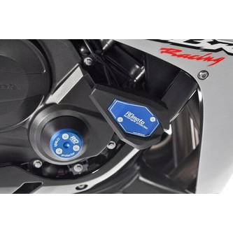 H CBR600RR 03-04 Kit Tamponi Paratelaio SHOCKAB Squadrati Mod.NO