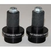 Adattatori Universali Contrappesi RDMOTO SYSTEM 17,5mm
